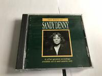 The Best Of Sandy Denny CD ISLAND MASTERED BY NIMBUS CDSD 100 5014474331008 [B7]