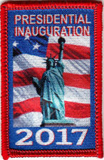 """PRESIDENTIAL INAUGURATION 2017- DONALD TRUMP - Iron On Embroidered Patch"