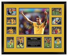 TIM CAHILL FAREWELL TO THE GREATEST SOCCEROO SIGNED LIMITED FRAMED MEMORABILIA
