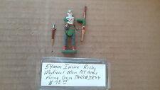 54mm Imrie- Risley Miniatures  Medieval Man At Arms Firing Hand Gun