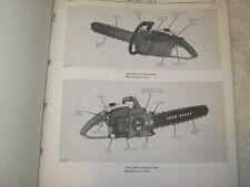 Original John Deere 14 & 18 Chainsaw Parts Catalog Manual
