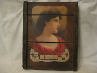 antique Western Southern Life Insurance rustic wood pallet wall decor art