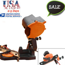 New Electric Chainsaw Chain Saw Sharpener Grinder 4800RPM Wall Mount Tool