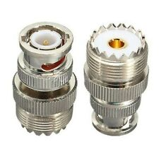 SO239 UHF female connector male BNC coaxial RF new adapter L1R4