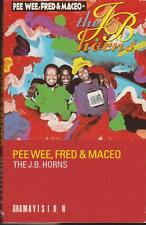 """THE J.B. HORNS """"PEE WEE, FRED & MACEO"""" CASSETTE 1990"""