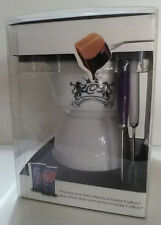 Cadbury Couture Fodue set with two utensils and heating candle
