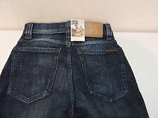 Nudie Jeans Hai Kai Organic Cotton Blend Skinny Dk Wash Jeans-26X32 *