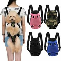 US Pet Carrier Backpack Adjustable Pet Front Cat Dog Carrier Travel Bag Legs Out