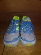 NEW BALANCE 7 Womens W980BY2 Boracay Athletic Running Shoes Blue/Yellow