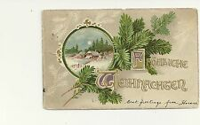 German Posted Collectable Greeting Postcards