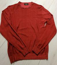 Tigha Herren  Sweater Pullover Vintage Red Größe M