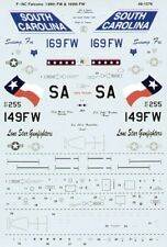 MICROSCALE Decalcomanie 1/48 Lockheed-Martin F-16C FALCHI # SS481076