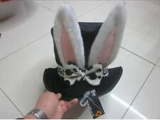 WONDERLAND EASTER RABBIT HAT, ALICE THEMED FANCY DRESS PARTY BOOK WEEK COSTUME