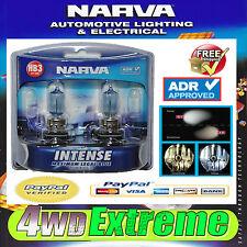 NARVA HB3 GLOBES BLUE INTENSE 12V 60W 48473BL2 LIGHTS HEADLIGHTS PARKER T10 CAR