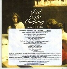 (CB415) Red Light Company, Arts & Crafts - 2008 DJ CD