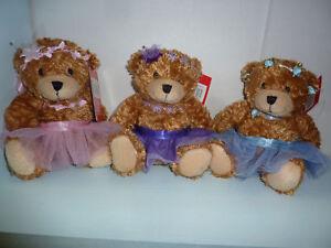 "Soft 6"" TEDDY bear in a choice of Ballet  DANCE TUTU's"
