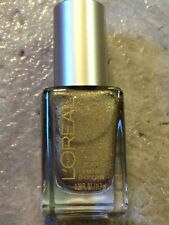 NEW L'OREAL NAIL POLISH GORGEOUS GOLD GLITTER SHIMMER LIMITED EDITION