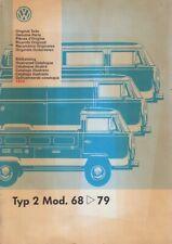 VW Bus T2 - 68-79 - Reparaturleitfaden - Bildkatalog / Ersatzteilkatalog - NEU