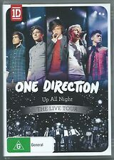 "ONE DIRECTION       ""Up All Night - THE LIVE TOUR""      DVD Region 0"
