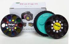 AU - Holga HLT-C Special Effect Lens & Filter Turret Canon DSLR SLR GREEN