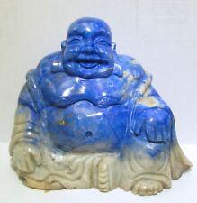 Lapis Lazuli BUDDHA (#06) - CLEARANCE - BUY MORE 4 LESS