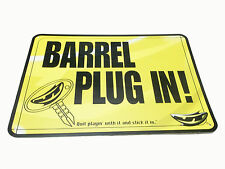 Jt Paintball Barrel Plug In Safety Sign for Fields - New - High Quality Material