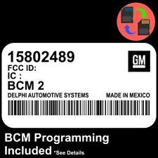 15802489 W/ PROGRAMMING 2005 2006 Colorado / Canyon BCM BCU Body Control Module