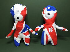 Mascotte J.O Londres 2012 Wenlock Mandeville Olympic paralympic London peluche