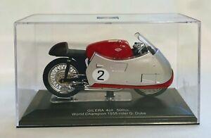 GILERA 4CIL. 500CC. RED, WORL CHAMPION 1955, G. DUKE, SCALE 1/43, #2