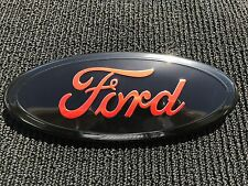 NEW 2004 - 2014 FORD F-150 RED OVAL FRONT GRILLE OR REAR LIFTGATE 9 INCH LOGO
