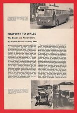 Buses Magazine Extract ~ Booth & Fisher of Halfway - Sheffield: History - 1976