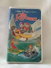 The Rescuers Walt Disney Classic Black Diamond Edition 1992 Rare EUC