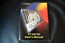 Chaintech Computer Mainboard CT-6ATA2 Users Manual