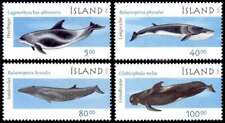 Iceland 2001 Animals, Marine Mammals, Whales and Dolphins, MNH / UNM