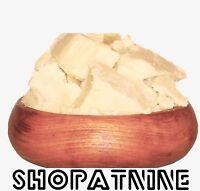 1Kg Organic UNREFINED Certified Shea Butter 100% Pure Raw Natural Skincare Balm