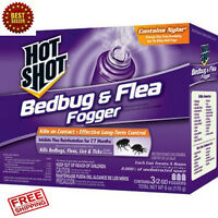 3-Pack Bed Bug Bomb Insect Fogger Kill Mosquito Flies Fleas Ticks Bed Bug Killer