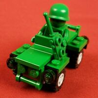 Genuine Lego 30071 Green Army Man Minifigure with Jeep Toy Story