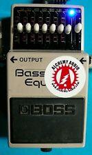 Modify your Boss GEB-7 EQ Bass Equalizer Effects Alchemy Audio Mod (No Pedal)
