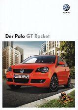 VW VOLKSWAGEN GT ROCKET Sondermodell Prospekt Brochure 2008 6