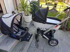 Hartan VIP Kinderwagen, Kombikinderwagen (Sportsitz und Wannenaufsatz)