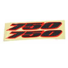 Carbon Fiber Decals stickesr Emblem Fairing Label 750 For SUZUKI GSXR750 750