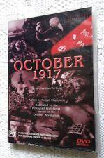 OCTOBER 1917, DIRECTED BY SERGEI EISENSTEIN (DVD) R-4, LIKE NEW, FREE POSTAGE