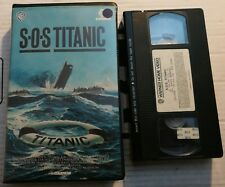 VHS S.O.S. TITANIC di Billy Hale [WARNER BROS]