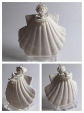 "Margaret Furlong Designs Coneflower & Goldfinch 3"" Angel Sang Ornament Porcelain"