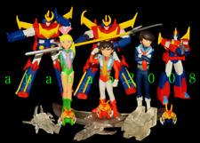 Robots, Monsters & Space Toys Toys & Hobbies Voltron Snap Kit Super Minipla Legendary Defender 18cm Original Bandai Leone Fine Quality