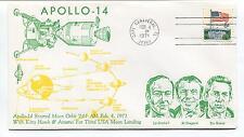 1971 Apollo 14 Entered Mon Orbit Third USA Moon Landing Florida Space Cover