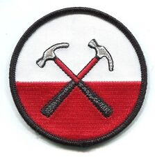 PINK FLOYD hammers logo EMBROIDERED IRON-ON PATCH **Free Shipping**  p-0537