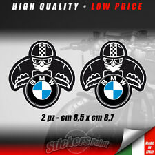 2 adesivi CAFE RACER stickers BMW old biker decal motorrad R classic CCR001