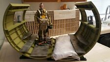1/6 SOLDIER STORY DID 3R 82 ND 10ST AIRBORNE WW2 AND WHITE PARACHUTE /FUSELAGE