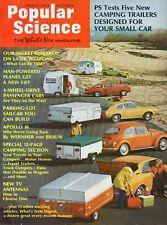Popular Science Magazine March 1972 Sanding Tips, Freezer Alarm, New Chain Saws
